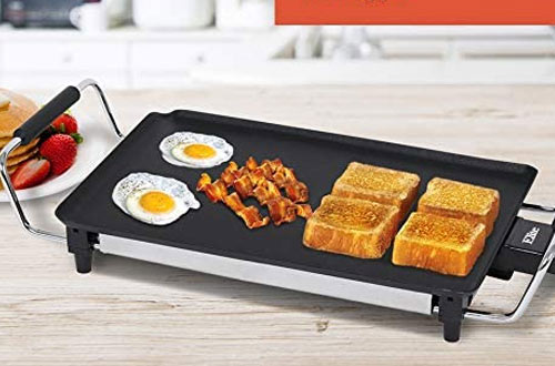Elite Gourmet Electric Griddles with Cool-Touch Handles