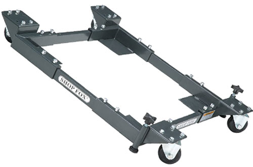 Shop Fox D2057A Adjustable Small Mobile Bases