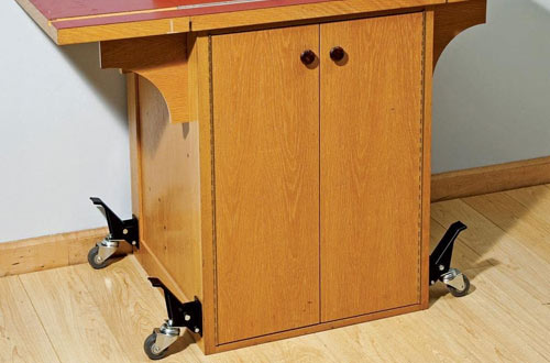 Rockler Metal Workbench Casters